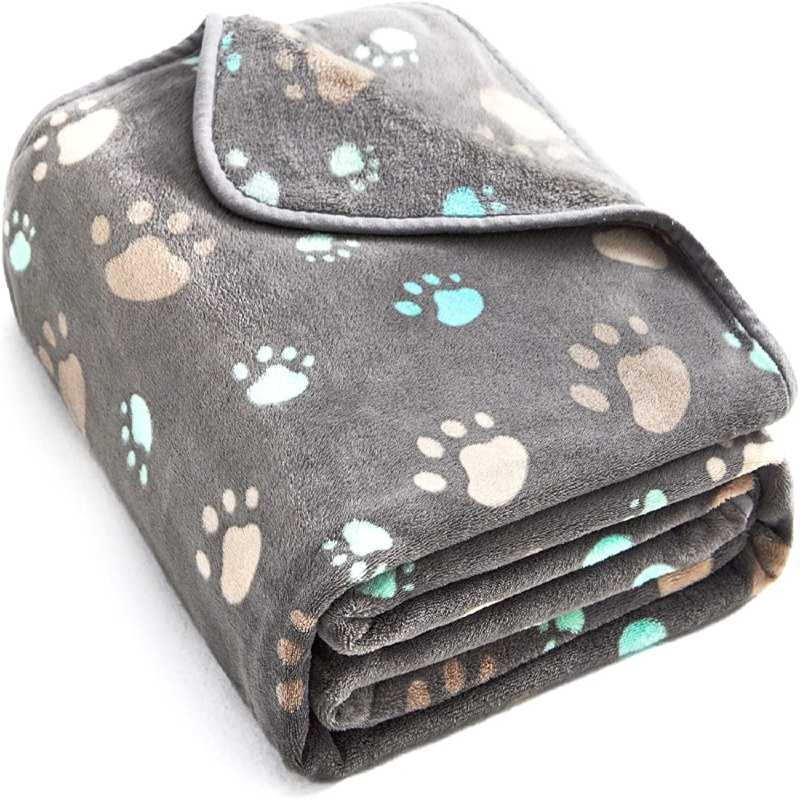 ALLISANDRO 350 GSM Premium Fleece Dog Blanket