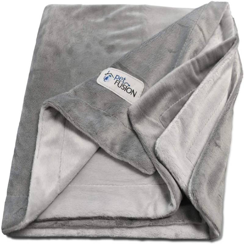 PetFusion premium washable dog blanket multiple sizes for dogs and cats reversible micro plush 100 per cent soft