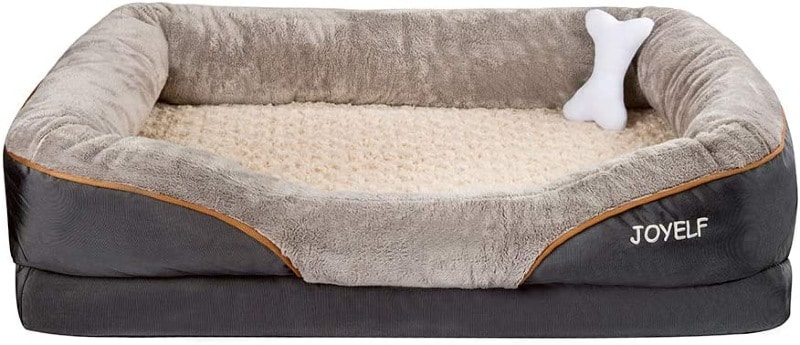 JOYELF Orthopedic Dog Bed Memory Foam Pet Bed XL - large dog bed reviews