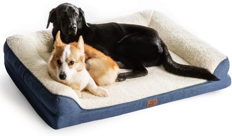 Bedsure Orthopedic Pet Sofa Bed - XL - large dog bed reviews