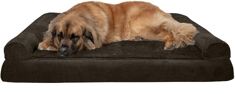 Furhaven Plush Orthopedic Sofa Dog Bed - Jumbo Plus Sofa Bed - large dog bed reviews